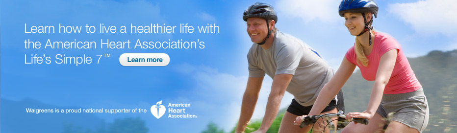 Live healthier life w/ American Heart Association's Life's Simple 7. Learn more.